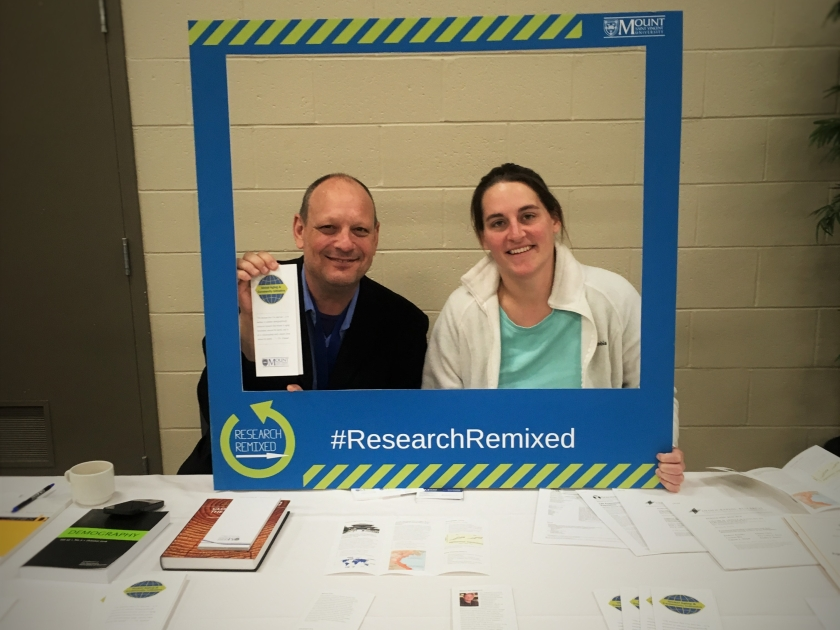 Brittney and Zak at research remixed